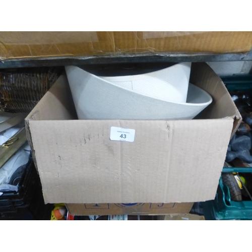 43 - BOX LOT...