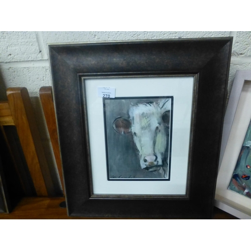 270 - FRAMED PRINT BY CON CAMPBELL...
