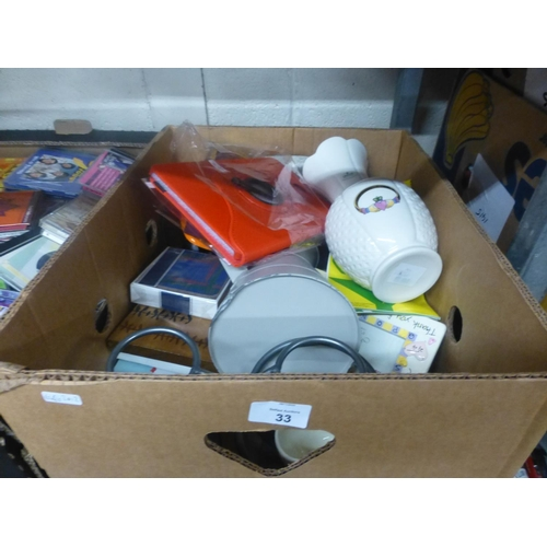 33 - BOX LOT