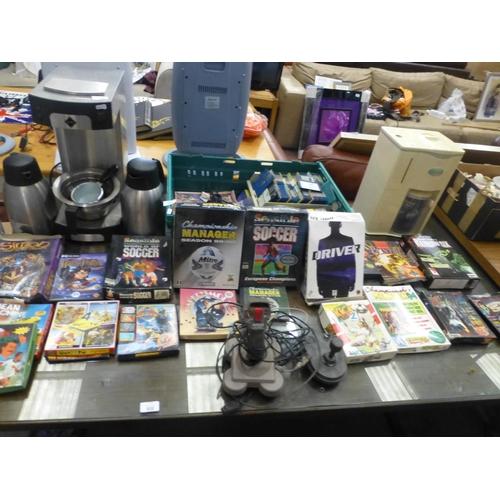701 - BOX OF RETRO GAMES ETC