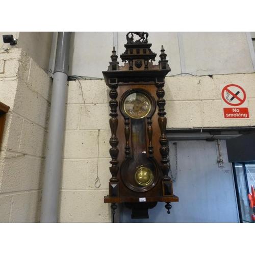 220 - VIENNA WALL CLOCK