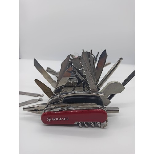 6 - Wenger 16999 Giant Swiss Army Knife - Guinness World Record Holder, Integrates 87 Implements  and 14...