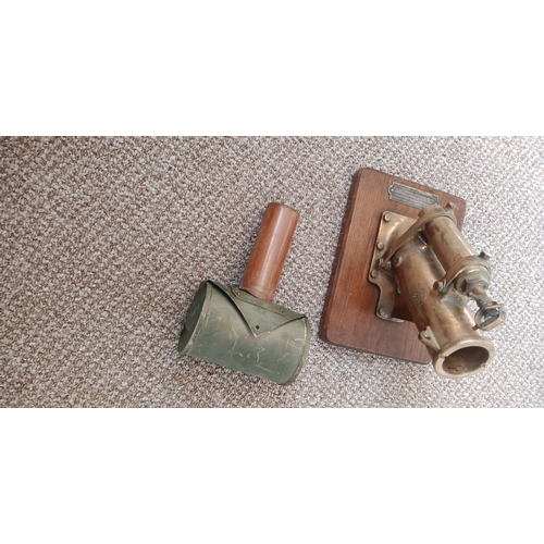 322 - Model of Thornycroft Bomb Thrower. The First Trials of Which was Carried Out on Board of HMS Linnet ...