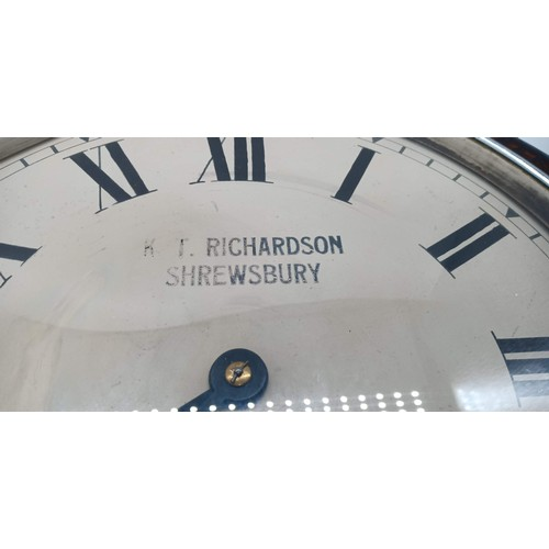 1 - A Cased Wall Clock for K T Richardson - Shrewsbury 16