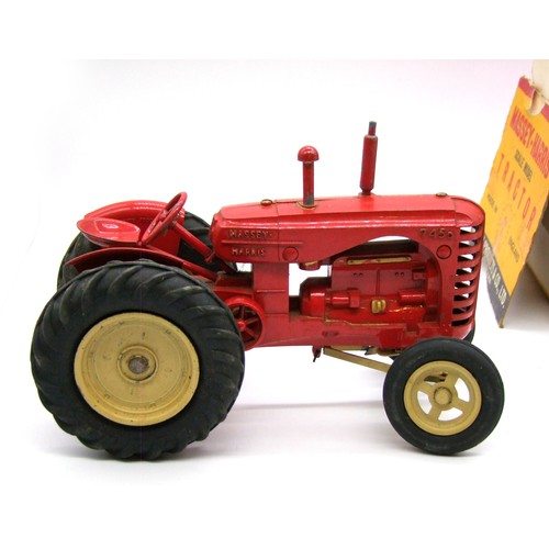 22 - Lesney Diecast, Major-Scale Series No.1 Massey-Harris Tractor 745D, Boxed...