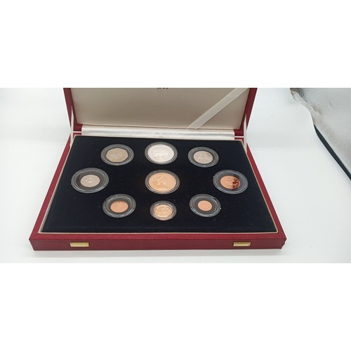 1 - A Limited edition of 1 of 1800, 1981 United Kingdom Gold Proof Coin Sets Including a £5 Gold Soverei...