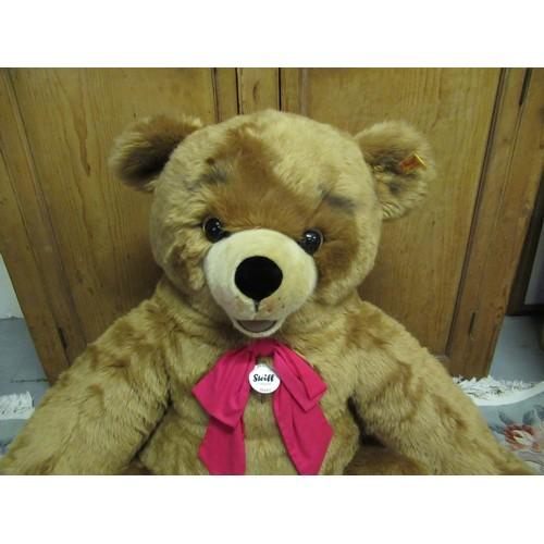 2a - A Giant Steiff 'Bobby' Teddy Bear 120cm tall...
