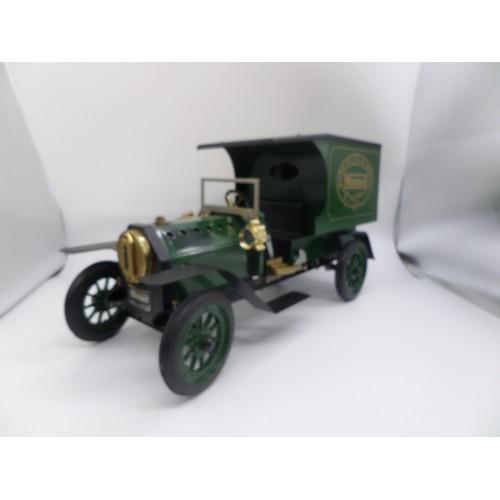 1A - Green Mamod Working Steam Model DV1 Car Boxed