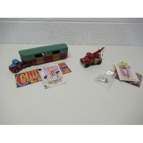 538 - 11 x Corgi Classic Chipperfields Circus Diecast 1:50  - All New Condition  To Include:  1.	 AEC Pole...