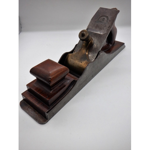 33 - Buck Rosewood Infill/ Transition Plane 1867 -1879 . Dovetail Steel Construction , Very Fine Conditio...
