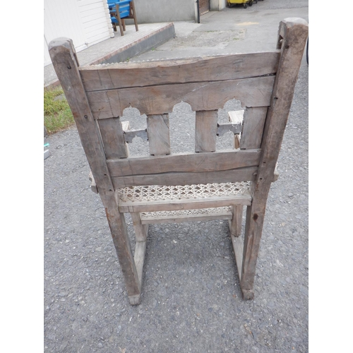 3 - Believed to be a Swahili Culture Chair from Lami Island Kenya, Style Known as the