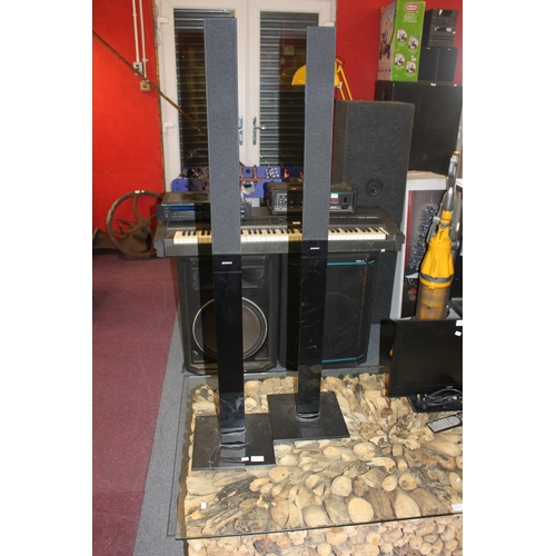 23 - 1 x pair of tall sony surround sound speakers...