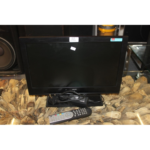 25 - 1 x 18 1/2 inch bush led dvd television...