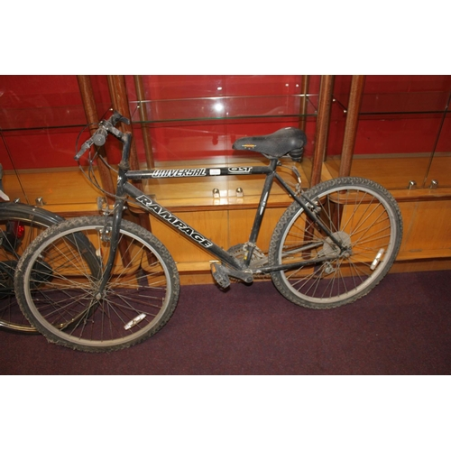 10 - 1 x universal rampage mountain bike...