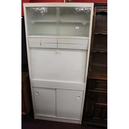 49 - 1x 1960's kitchenette unit...