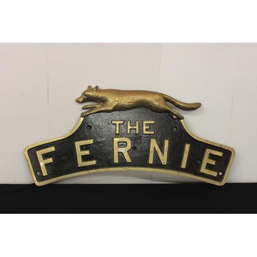 307 - 1 x Newton cast metal replica LNER hunt class the fernie...