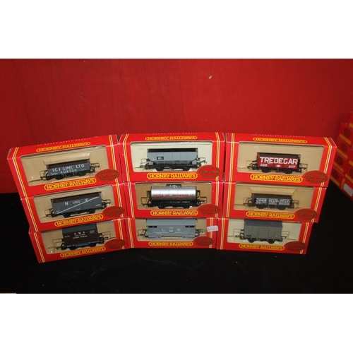 333 - 9x hornby 00 toplink wagons...