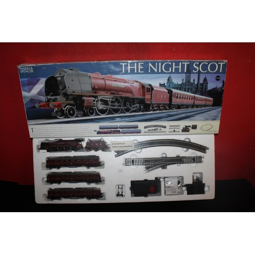 347 - Hornby 00 night Scot new sealed in pack...