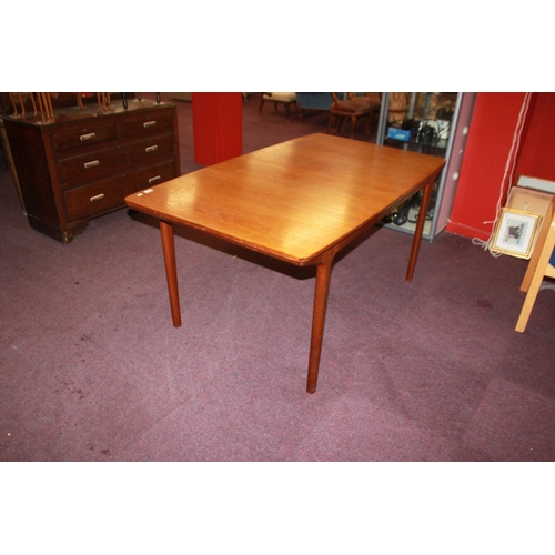 48 - 1 a h Macintosh and co ltd extending dining table 1960s...