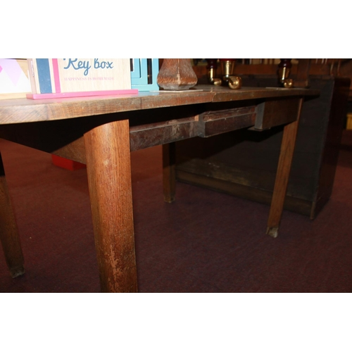 54 - 1 x lemming of Halifax oak extending dining table...