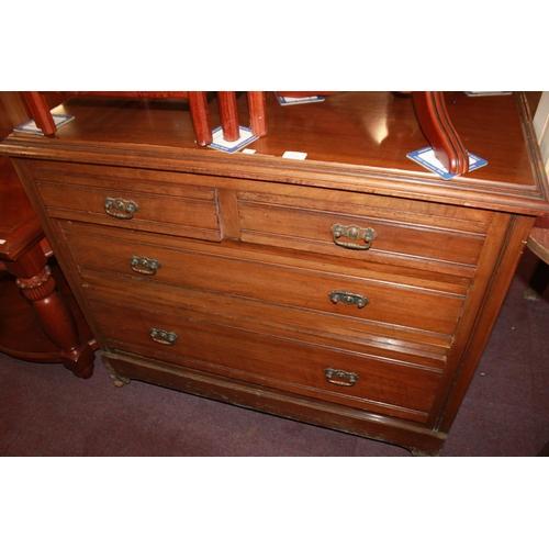 57 - 1 x Edwardian mahogany 4 drawer chest of drawers...