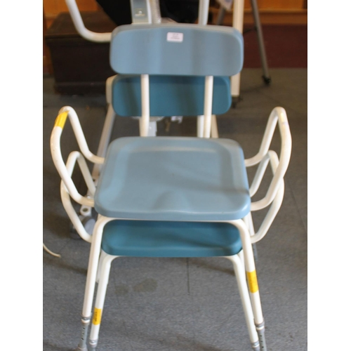 13 - 2 x disability perching stools