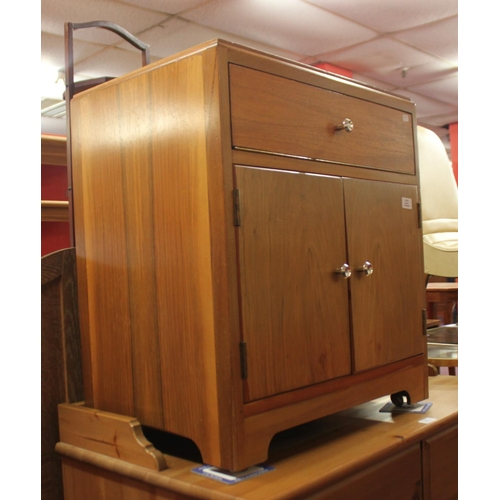 40 - 1 x 1960s record cabinet