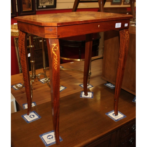48 - 1 x replica Italian style musical sewing table