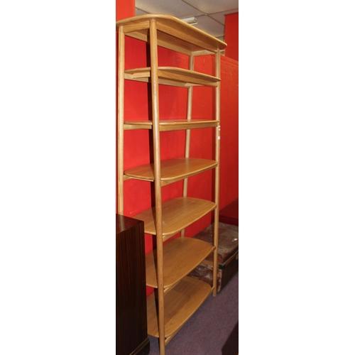 57 - 1 x heals 7 shelf display unit