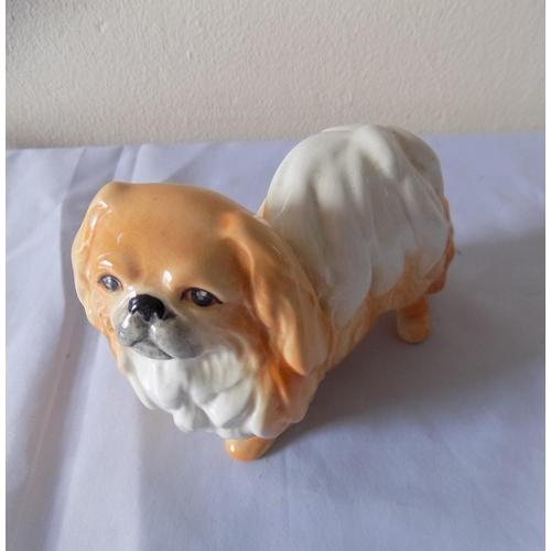 44 - Sylvac Pekinese Dog Figure...