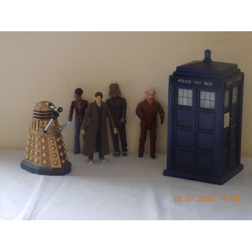 59 - Box of Doctor Who Figurines...