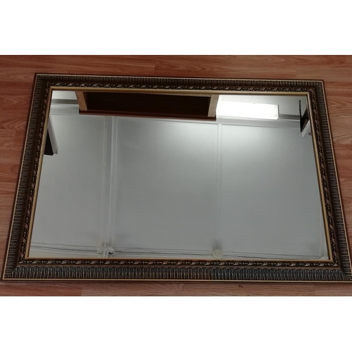 18 - Ornate Framed Mirror, 104cm x 74cm. This item is Collection only....