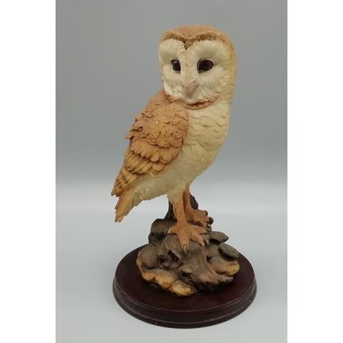 27 - Leonardo Owl Figure...