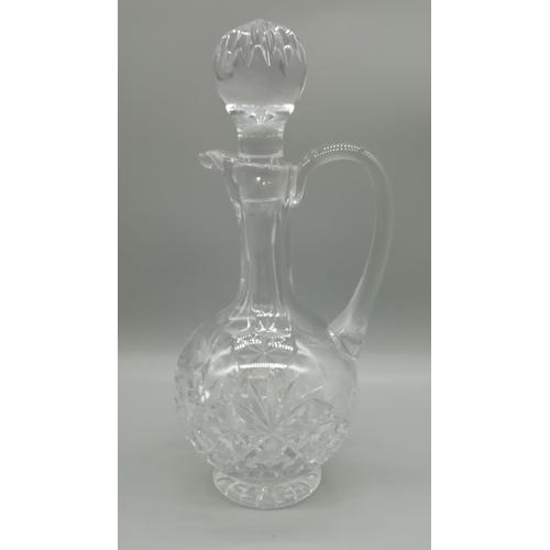 39 - Cut Glass 30cm Claret Jug...