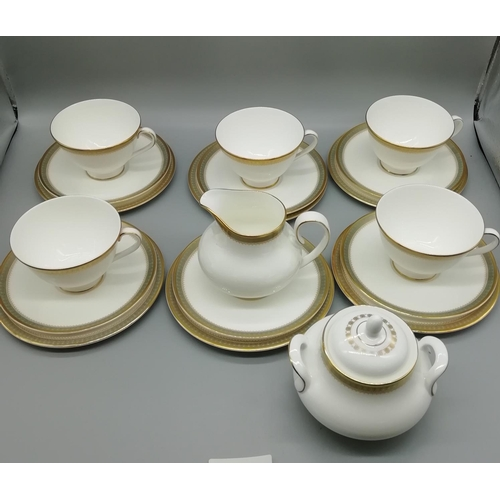 46 - Royal Doulton Part Teaset in the 'Claredon' Pattern...