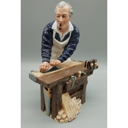 47 - Royal Doulton Figure 'The Carpenter' HN2678. 2nds Quality...