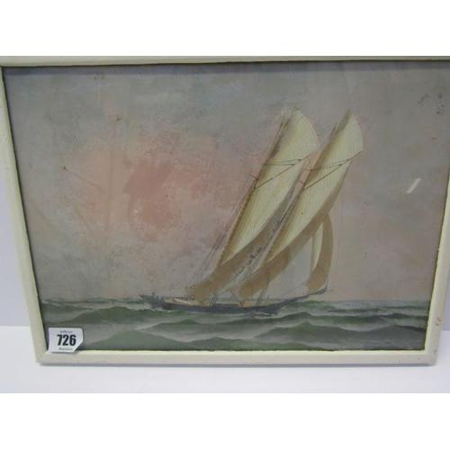 726 - ANTONIO JACOBSEN, unsigned painting