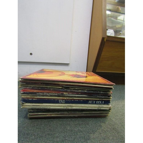 60 - VINYL RECORDS, assorted collection including T Rex, Meatloaf and ELO...