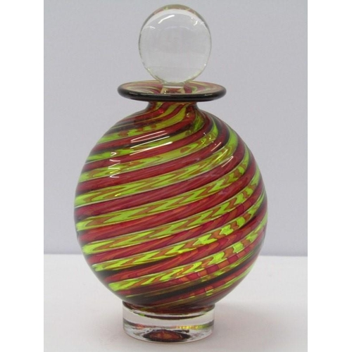 88 - ART GLASS, Bob Crooks signed