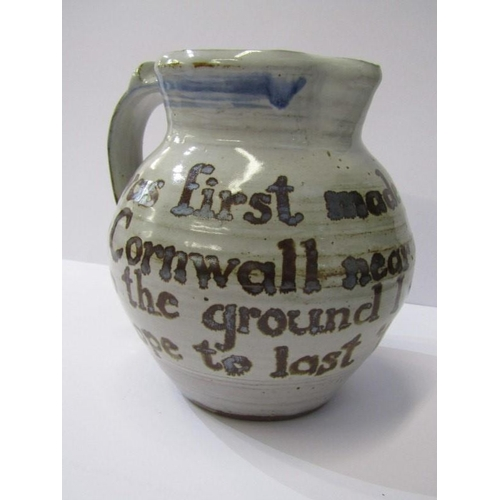 2 - CARDEW POTTERY, verse decorated 6.5