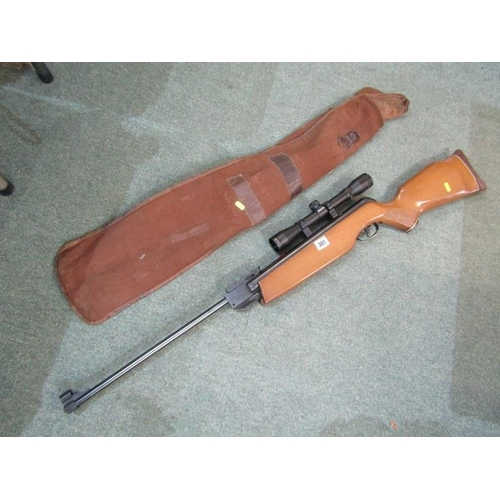301 - AIR RIFLE, Magnum with Simmons telescopic sight 4x32...