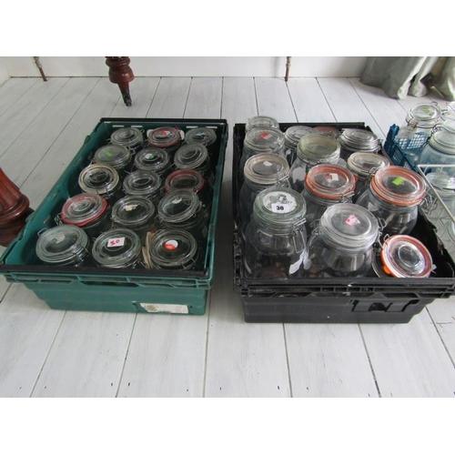 30 - KILNER JARS, in 2 crates approx. 26...