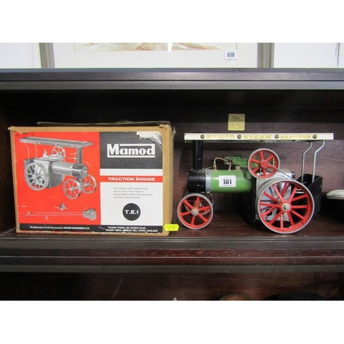 101 - MAMOD, original boxed traction engine...