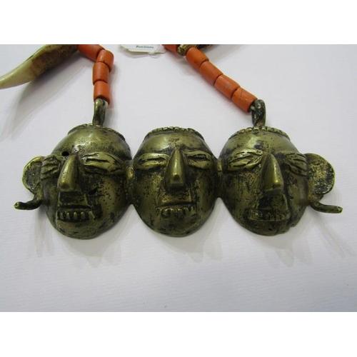 140 - ETHNIC, Nagaland head hunters necklace...
