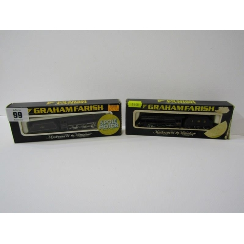 99 - GRAHAM FARISH N GAUGE ENGINES, boxed class J94 locomotive and tender in British Rail black, no 1016,...