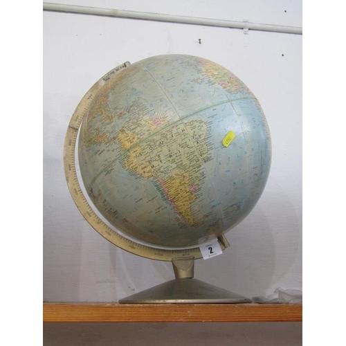 2 - GLOBE, tabletop globe