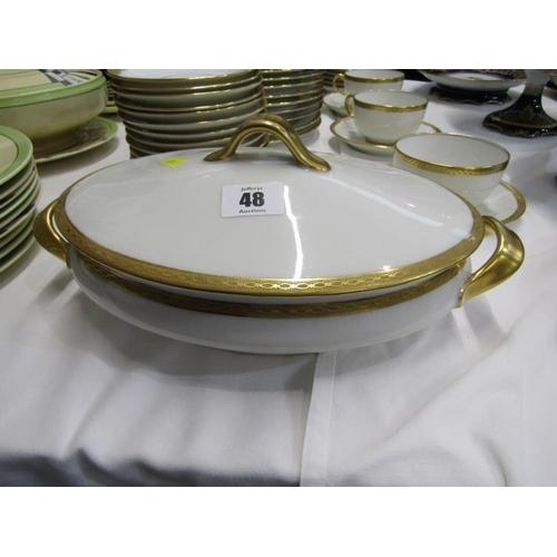48 - LIMOGES DINNERWARE,