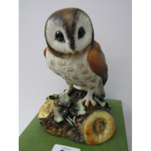 30 - ROYAL CROWN DERBY BIRD, boxed figure of Brown Owl...