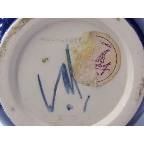 101 - MOORCROFT, blue ground