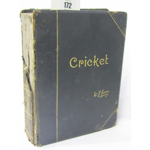 172 - CRICKET, limited edition W.G. Grace